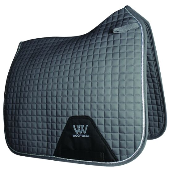 Woof Wear Dressage Saddle Cloth Colour Fusion Brushed Steel
