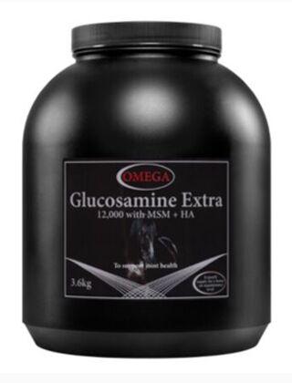 Omega Equine Glucosamine Extra 12,000 PLUS MSM-3.6kg