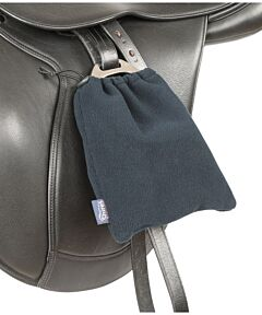 Shires Fleece Stirrup Covers-Navy