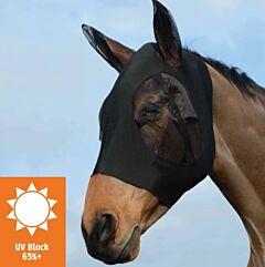 Weatherbeeta Stretch Eye Saver With Ears - Black
