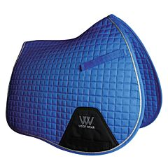 Woof Wear General Purpose Saddle Cloth Electric Blue