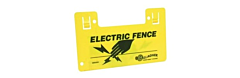 Gallagher Electric Fence Warning Sign