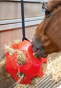 Shires Hay Ball-Red