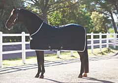 Horseware Amigo Jersey Cooler Navy/Silver