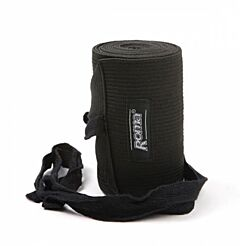 Roma Elastic Tail Bandage Black