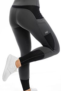 Horseware Silcone Riding Tights Charcoal
