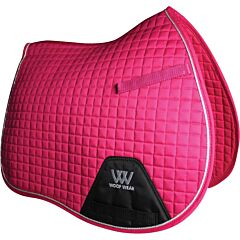 Woof Wear General Purpose Saddle Cloth Berry F/S