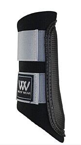 Woof Wear Club Brushing Boot-Brushed Steel