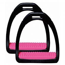 Shires Compositi Premium Profile Stirrups Pink