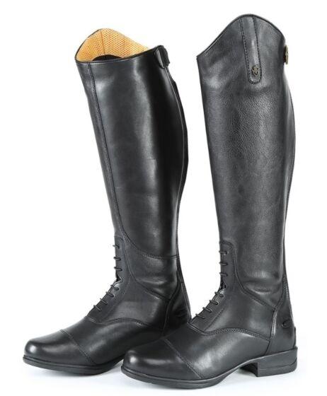 Moretta Gianna Riding Boots Black