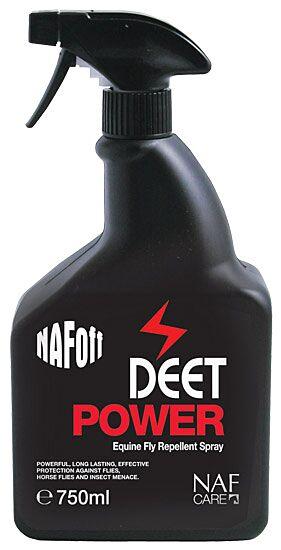 NAF Off Deet Power Fly Repellent Spray 750ml
