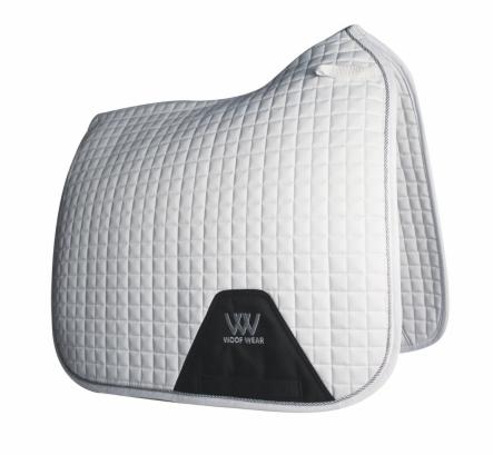 Woof Wear Dressage Saddle Cloth Colour Fusion White