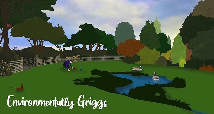 Environmentally Griggs Illustration